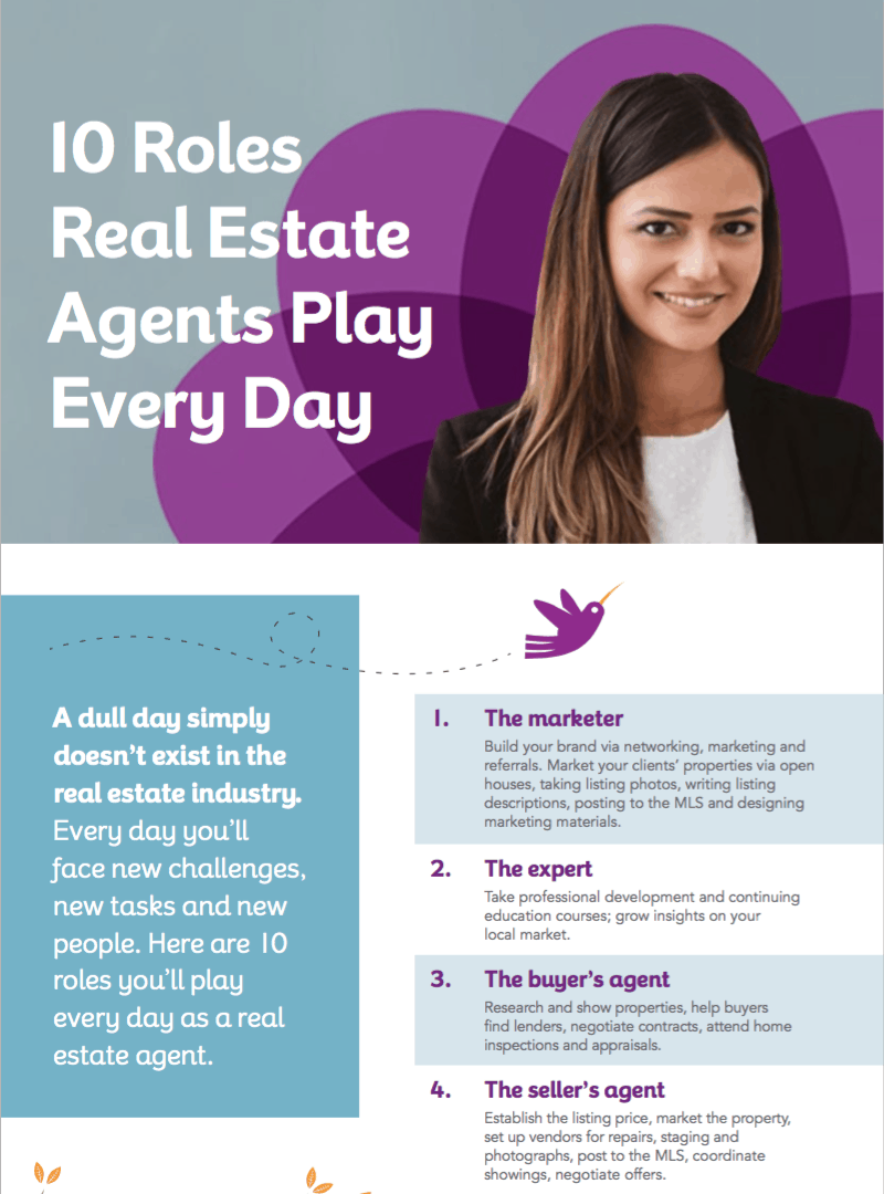 10 roles real estate agents play: free guide