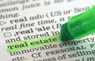 Real Estate Vocabulary and Acronyms