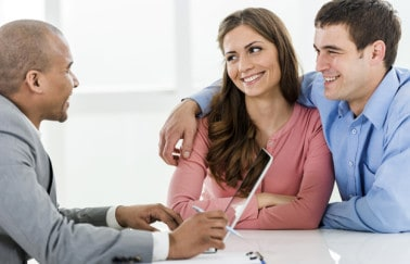 Real Estate License Exam Prep - Smiling Couple