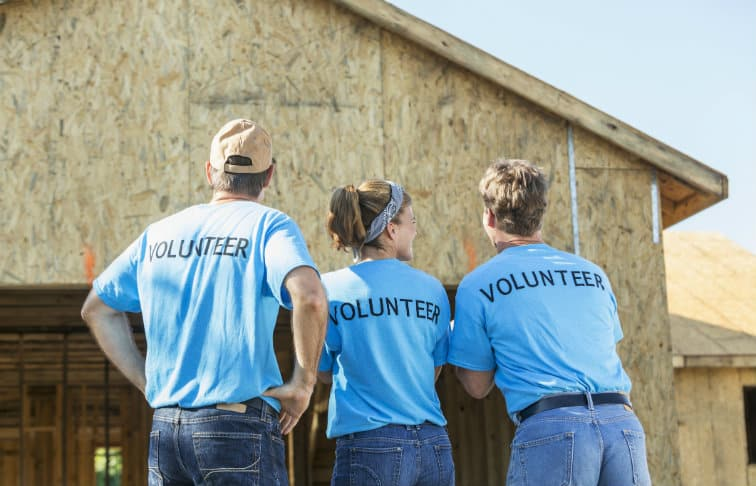real estate charities give back