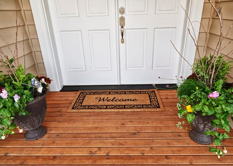 welcome mat front door