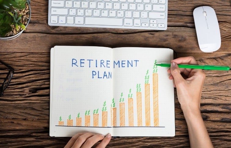 save for retirement real estate agent