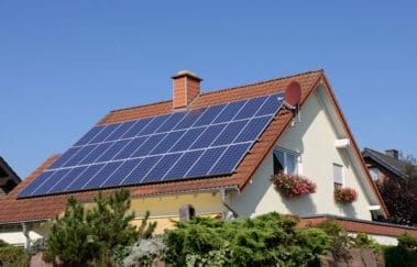 Beautiful single family eco-friendly home with solar panels